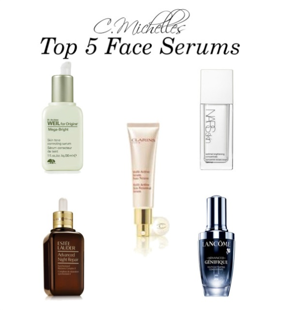 Top 5 Face Serums