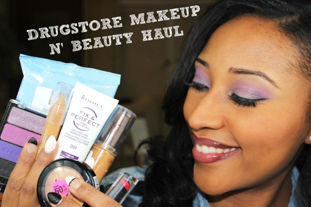 Drugstore Makeup n' Beauty Haul Jan 2015