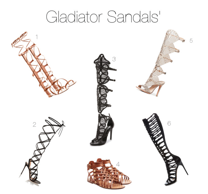 2015 Fashion Trends Gladiator Sandals