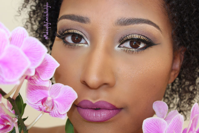 Makeup Inspired By Orchids